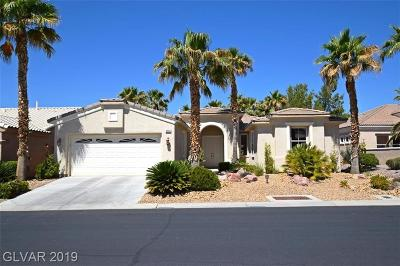 Las Vegas Single Family Home For Sale: 4555 Denaro Drive