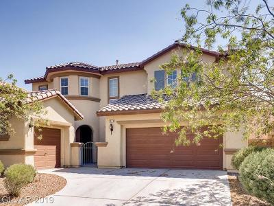 North Las Vegas Single Family Home For Sale: 1009 Robust Avenue