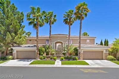Las Vegas Single Family Home For Sale: 2714 Vikings Cove Lane
