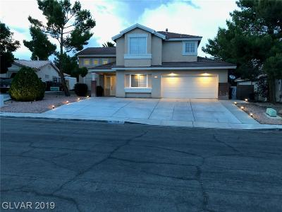 North Las Vegas Single Family Home For Sale: 2920 Asher Lane