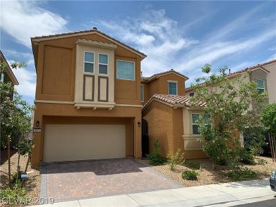 Las Vegas Single Family Home For Sale: 6975 Lilac Clouds Court