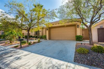 Las Vegas Single Family Home For Sale: 2834 Evening Rock Street