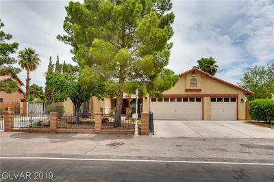 Las Vegas Single Family Home For Sale: 5804 Paseo Del Mar