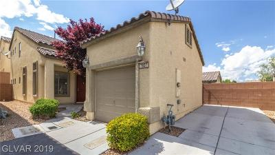 Las Vegas Single Family Home For Sale: 7837 Drydust Court