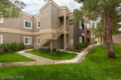 Spring Valley Condo/Townhouse For Sale: 5250 Rainbow Boulevard #2143