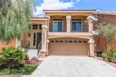 Las Vegas Single Family Home For Sale: 6726 Glissando Court