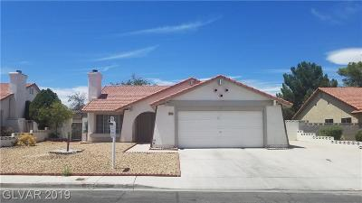 Las Vegas Single Family Home For Sale: 312 Manor Street