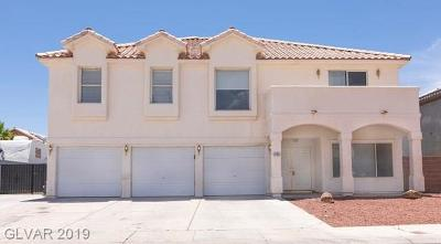 Las Vegas Single Family Home For Sale: 6105 Tamar Court