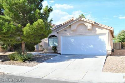 Las Vegas Single Family Home For Sale: 3680 Copper Cactus Drive