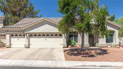 Henderson Single Family Home For Sale: 95 Shepherd Mesa Court