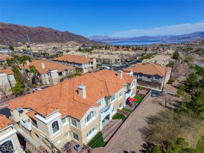 Boulder City Condo/Townhouse For Sale: 693 Bay View Drive #693