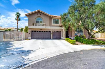 Las Vegas Single Family Home For Sale: 7428 Cypress Grove Court