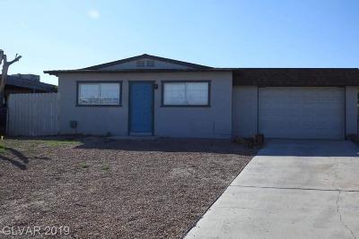 Las Vegas Single Family Home For Sale: 2661 San Marcos Court