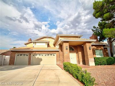 Las Vegas Single Family Home For Sale: 3930 Mojave Road