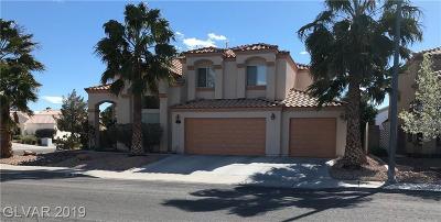 Las Vegas Single Family Home For Sale: 5101 Crimson Ridge Drive