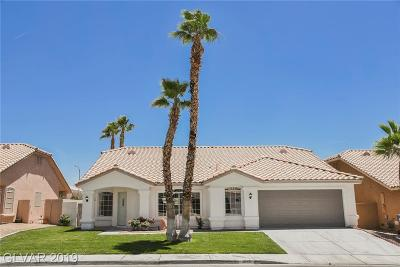 Las Vegas Single Family Home For Sale: 3860 Cotillion Court