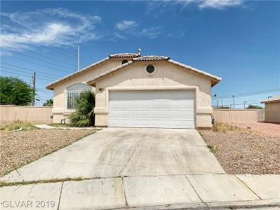 North Las Vegas Single Family Home For Sale: 2334 Glastonbury Thorn Street