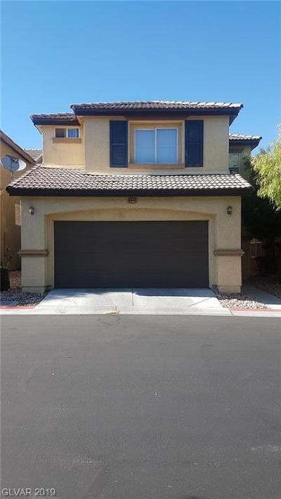 North Las Vegas Single Family Home For Sale: 4440 Acropolis Avenue