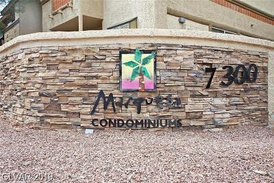 Las Vegas Condo/Townhouse For Sale: 7300 Pirates Cove Road #1031