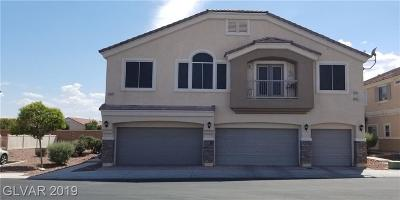 North Las Vegas Condo/Townhouse For Sale: 3713 Vanilla Nut Place #3