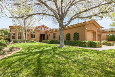 Henderson Single Family Home For Sale: 14 Clear Crossing Trail
