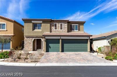 Las Vegas Single Family Home For Sale: 6185 Jennings Cove Court