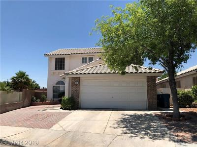 Las Vegas Single Family Home For Sale: 6505 Wild River Drive