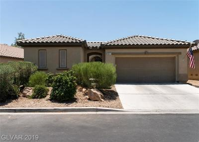 Las Vegas Single Family Home For Sale: 3511 Tundra Swan Street