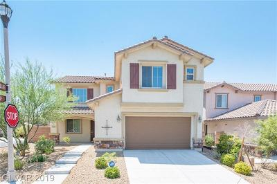 Henderson Single Family Home For Sale: 841 Via Del Cerchi