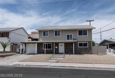 Las Vegas Single Family Home For Sale: 3016 Alcoa Avenue