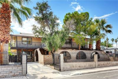 Las Vegas Single Family Home For Sale: 2300 Cochran Street