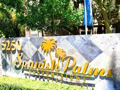 Spring Valley Condo/Townhouse For Sale: 5250 S Rainbow Boulevard #2051