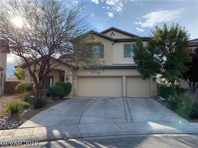 North Las Vegas Single Family Home For Sale: 4025 Daydream Bend Street