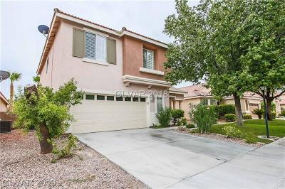 Las Vegas Single Family Home For Sale: 4825 Pounding Surf Avenue