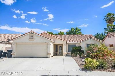 North Las Vegas Single Family Home For Sale: 115 Sugarbush Lane