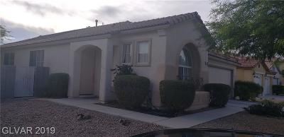 North Las Vegas Single Family Home For Sale: 5705 Deer Brush Court