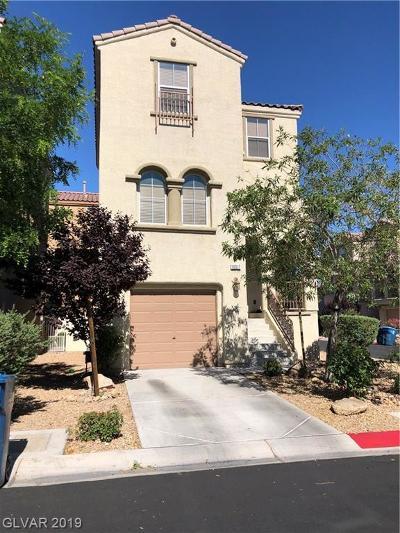Las Vegas Single Family Home For Sale: 10517 Longoria Garden Street