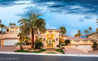 Las Vegas NV Single Family Home For Sale: $3,899,999