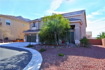 Las Vegas Single Family Home For Sale: 6975 Docile Daybreak Court