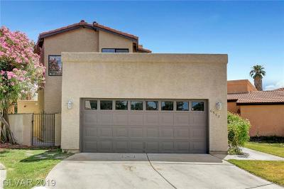 Las Vegas Single Family Home For Sale: 6553 Beacon Road