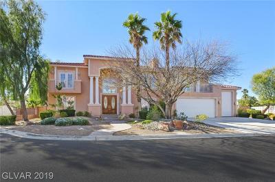 Las Vegas NV Single Family Home For Sale: $799,900