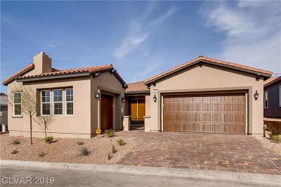 Henderson NV Single Family Home For Sale: $524,296