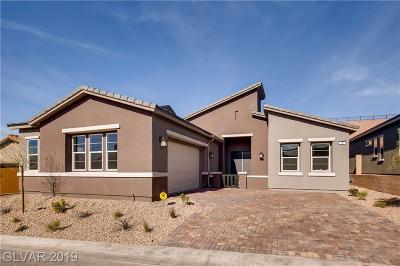 Henderson Single Family Home For Sale: 8 Via Tiberina