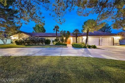 Las Vegas NV Single Family Home For Sale: $790,000