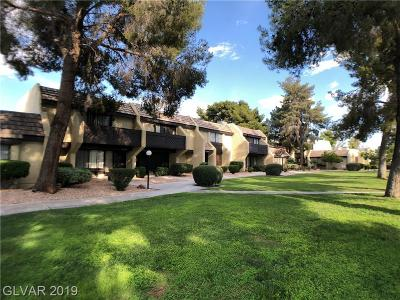 Las Vegas Condo/Townhouse For Sale: 4651 Comnor Hill Lane