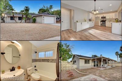 Las Vegas Single Family Home For Sale: 3043 McLeod Drive
