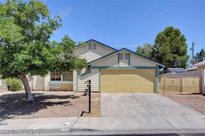 Henderson Single Family Home For Sale: 813 Fireweed Drive