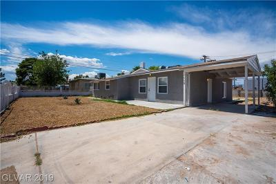 Las Vegas Single Family Home For Sale: 1113 Francis Avenue
