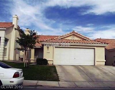 Single Family Home For Sale: 3742 Horseshoe Mesa Street
