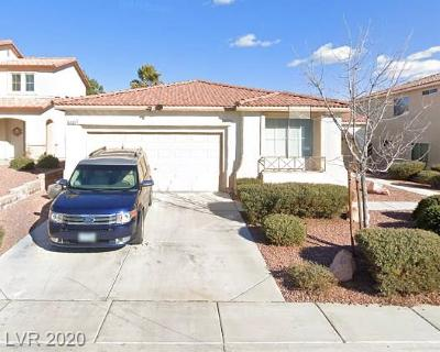 North Las Vegas Single Family Home For Sale: 6420 Indian Peak Court
